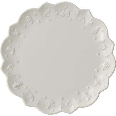 Toys Delight Royal Classic 7.25 in. White Salad Plate