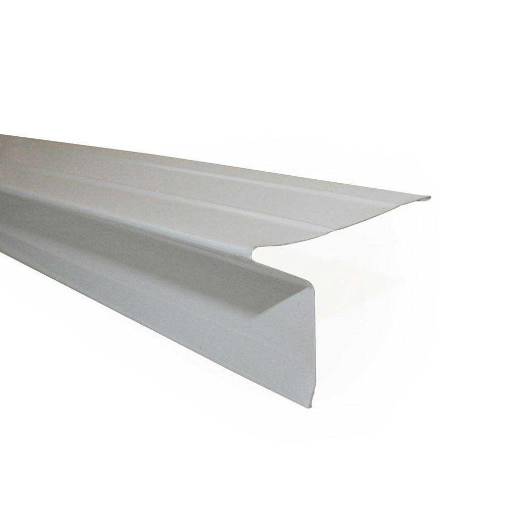 2 in. x 1-1/2 in. x 10 ft. Galvanized Steel Drip