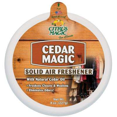 8 oz. Cedar Solid Odor Absorbing Air Freshener (6-Pack)