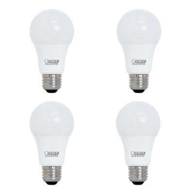 40-Watt Equivalent A19 Dimmable CEC LED ENERGY STAR 90+ CRI Light Bulb, Daylight (4-Pack)