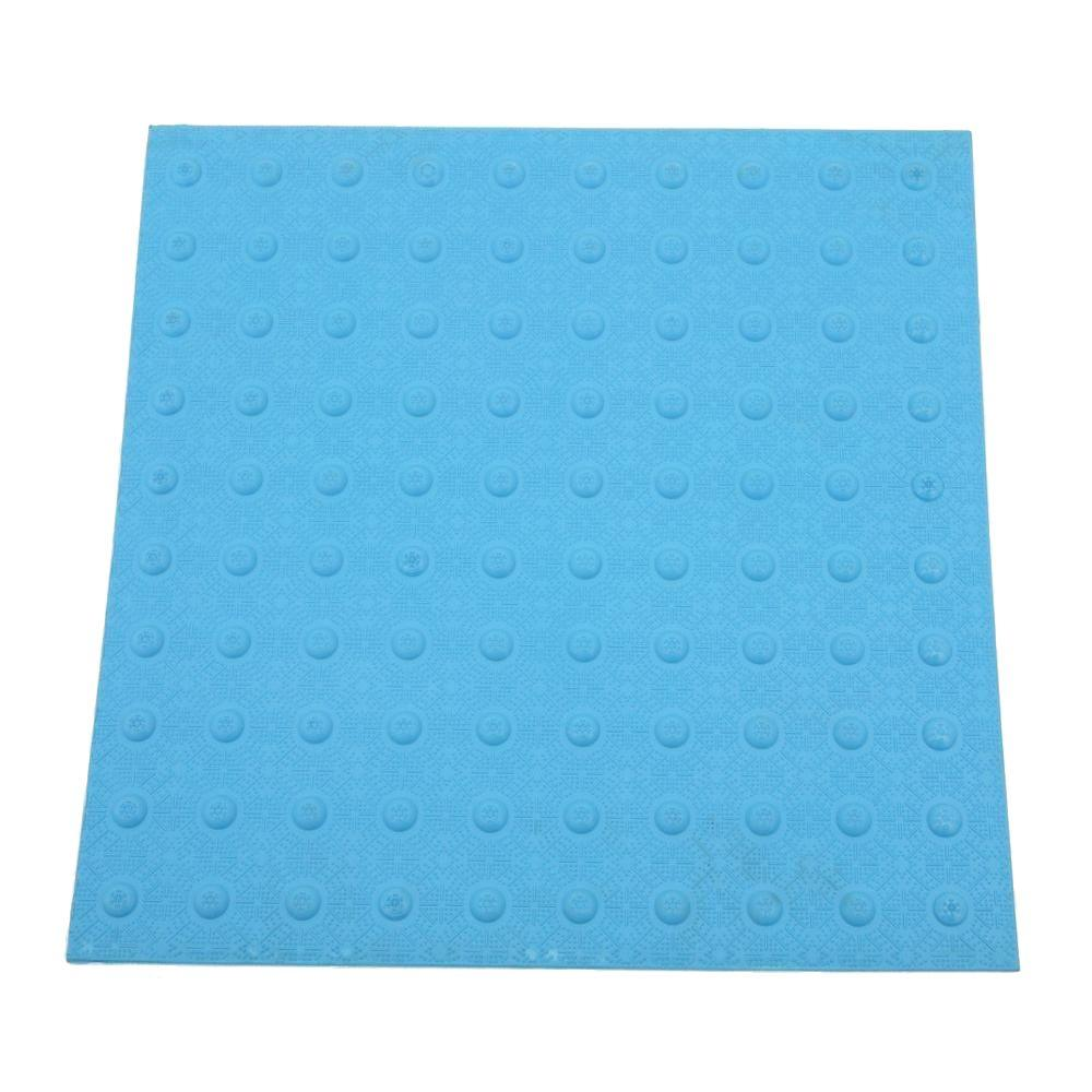 DWT Tough-EZ Tile 2 ft. x 2 ft. Blue Detectable Warning Tile