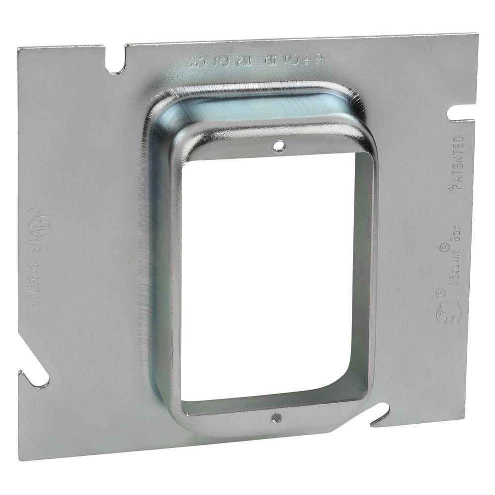 1 in. 5-Square Single Gang Ring (10 per Case)