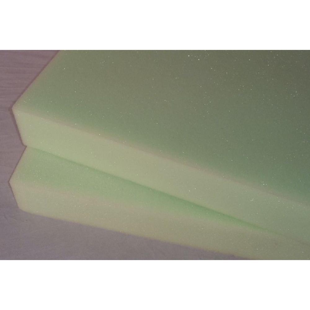 Ashford Textiles High Density Poly Foam 18 in. X 18 in. X 2 in. - (2-Pack)