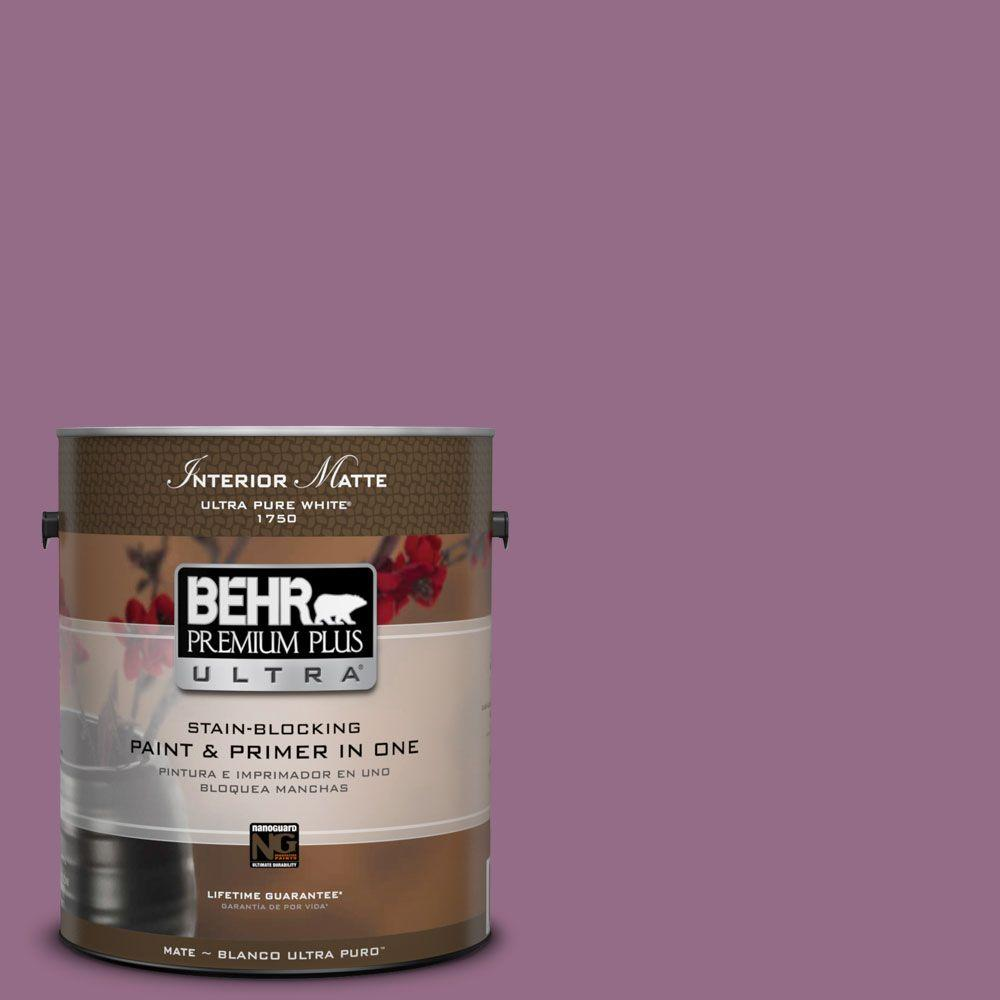 1 gal. #M110-6 Sophisticated Lilac Matte Interior Paint