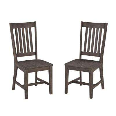 Concrete Chic Dining Patio Armchair (Set of 2)
