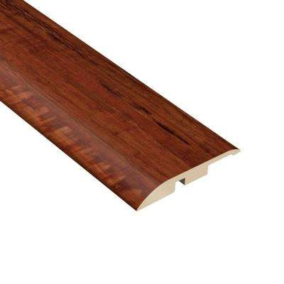 Catalina Hickory 3/8 in. Thick x 1-3/4 in. Wide x 94-1/2 in. Length Vinyl Multi-Purpose Reducer Molding