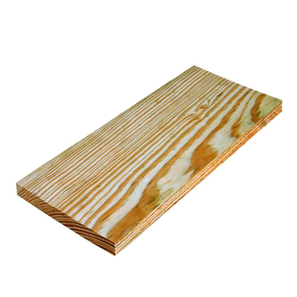 WeatherShield 1 in. x 6 in. x 8 ft. Appearance Grade Pine Pressure-Treated Board