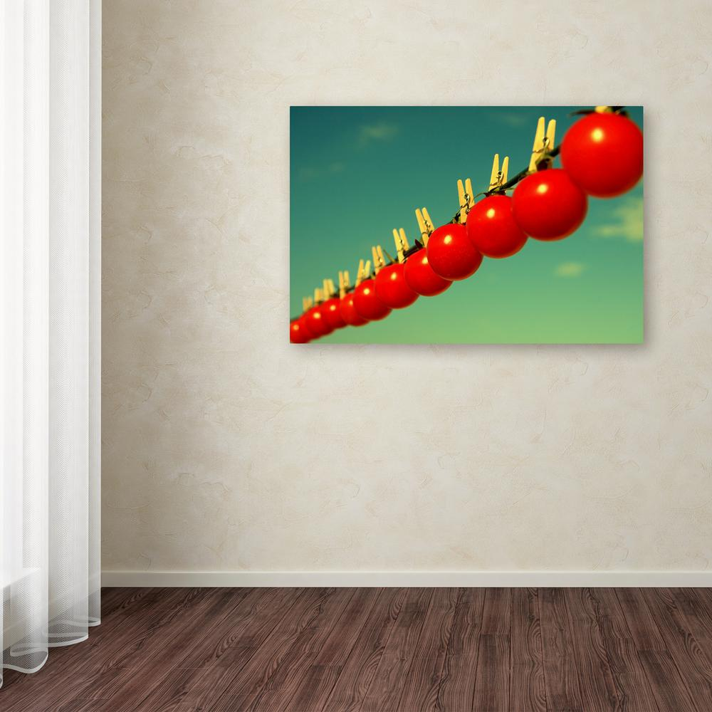 "16 in. x 24 in. ""Sundried Tomatoes"" by Beata Czyzowska Young"