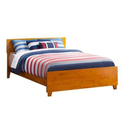 Orlando Caramel Latte Full Traditional Bed with Matching Foot Board
