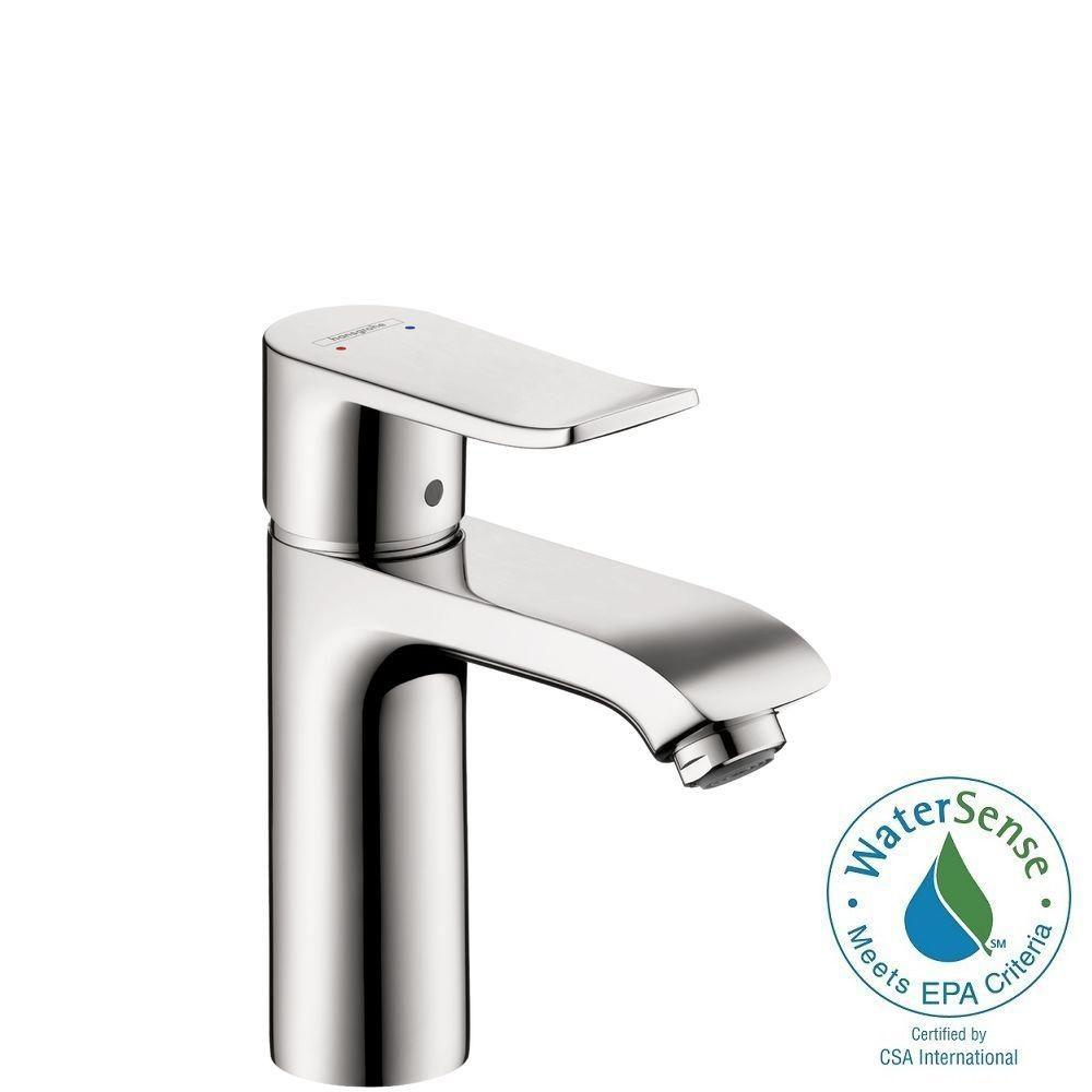 Etonnant Hansgrohe Metris Single Hole 1 Handle Low Arc Bathroom Faucet In Chrome