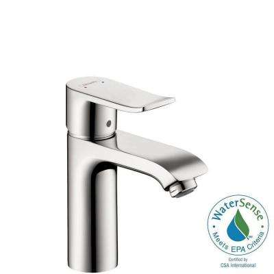 Metris Single Hole 1-Handle Low-Arc Bathroom Faucet in Chrome