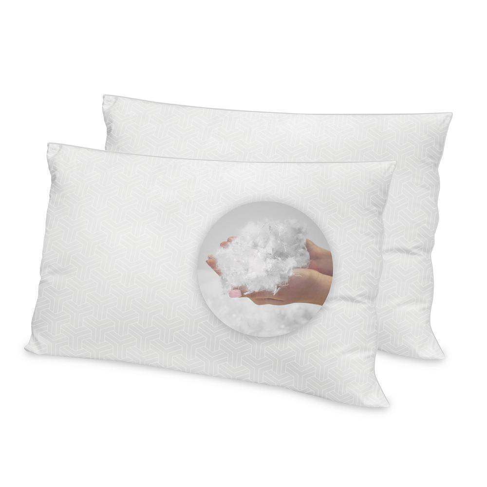 Luxury Hotel Jumbo Pillow (Set of 2)