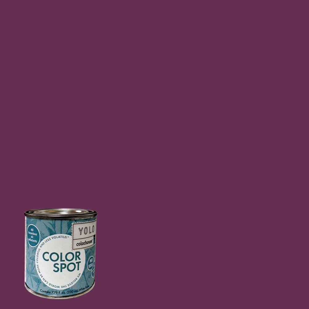 YOLO Colorhouse 8 oz. Petal .07 ColorSpot Eggshell Interior Paint Sample-DISCONTINUED
