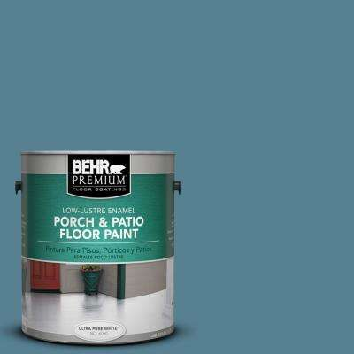 1 gal. #S470-5 Blueprint Low-Lustre Porch and Patio Floor Paint