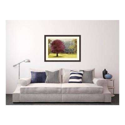 45.38 in. W x 33.38 in. H Summer Days - Plum by PI Studio Printed Framed Wall Art