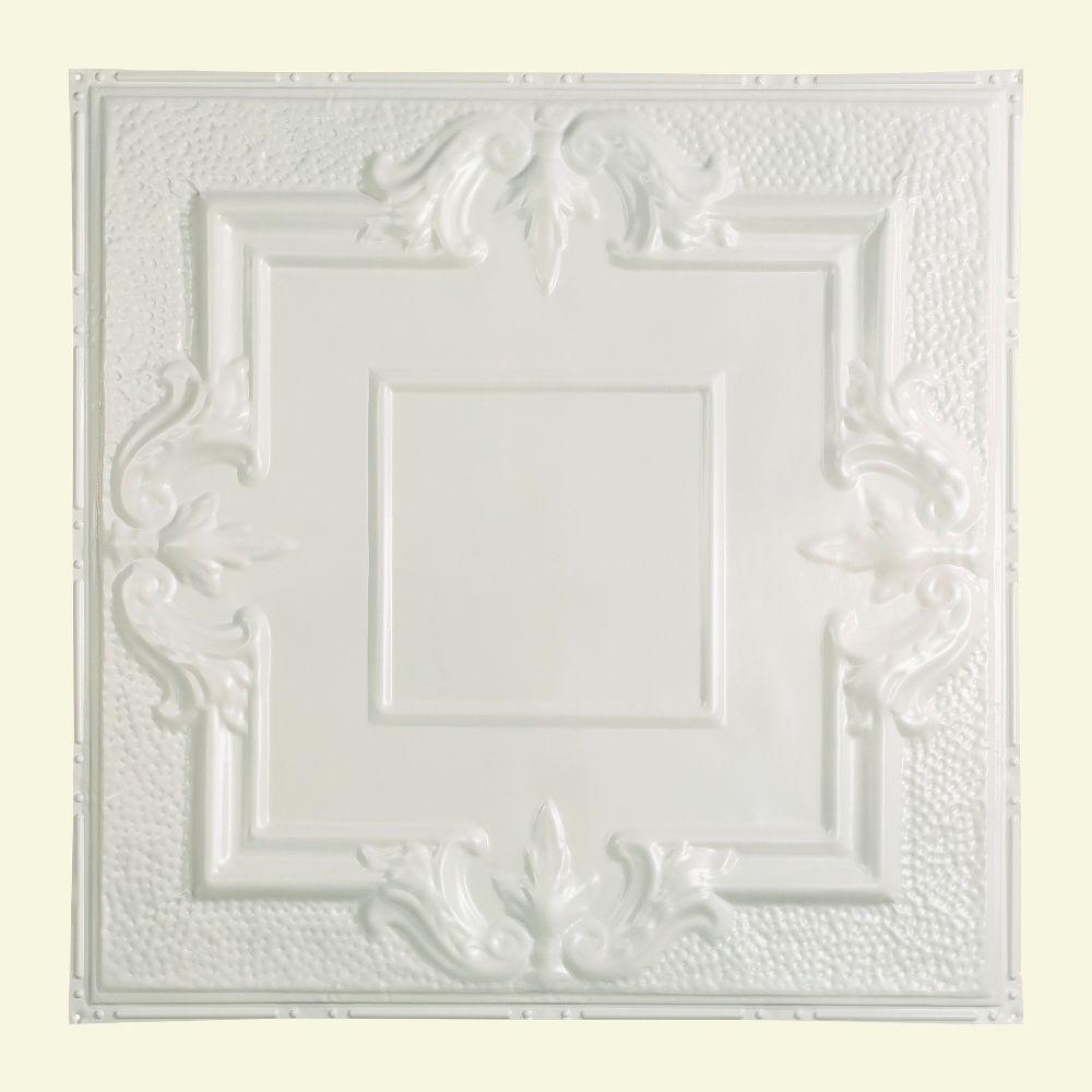 Niagara 2 ft. x 2 ft. Nail-up Tin Ceiling Tile in