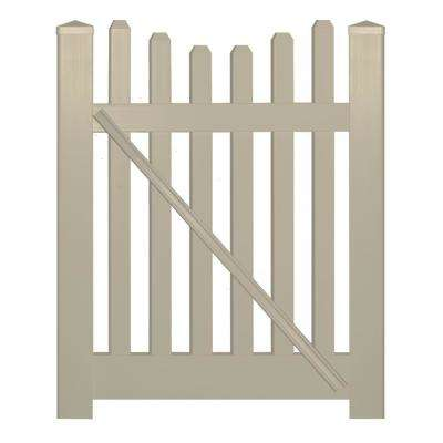 Spaced Picket Scallop 5 Vinyl Fence Gates Vinyl Fencing