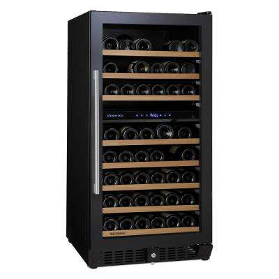 N'FINITY PRO M 94-Bottle 23.75 in. Dual Zone Freestanding Wine Cellar