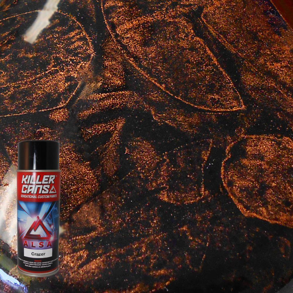 12 oz. Crazer Copper Killer Cans Spray Paint