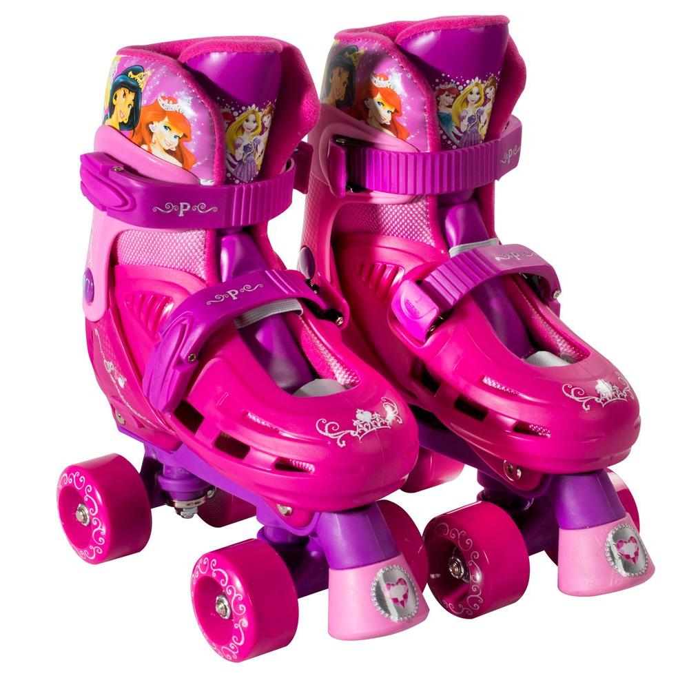 Disney Princess Junior Size 10 - 13 Kids Classic Quad Roller Skates
