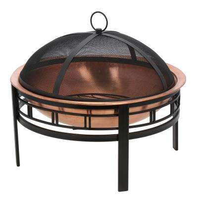 28 in. Copper Mission Fire Pit