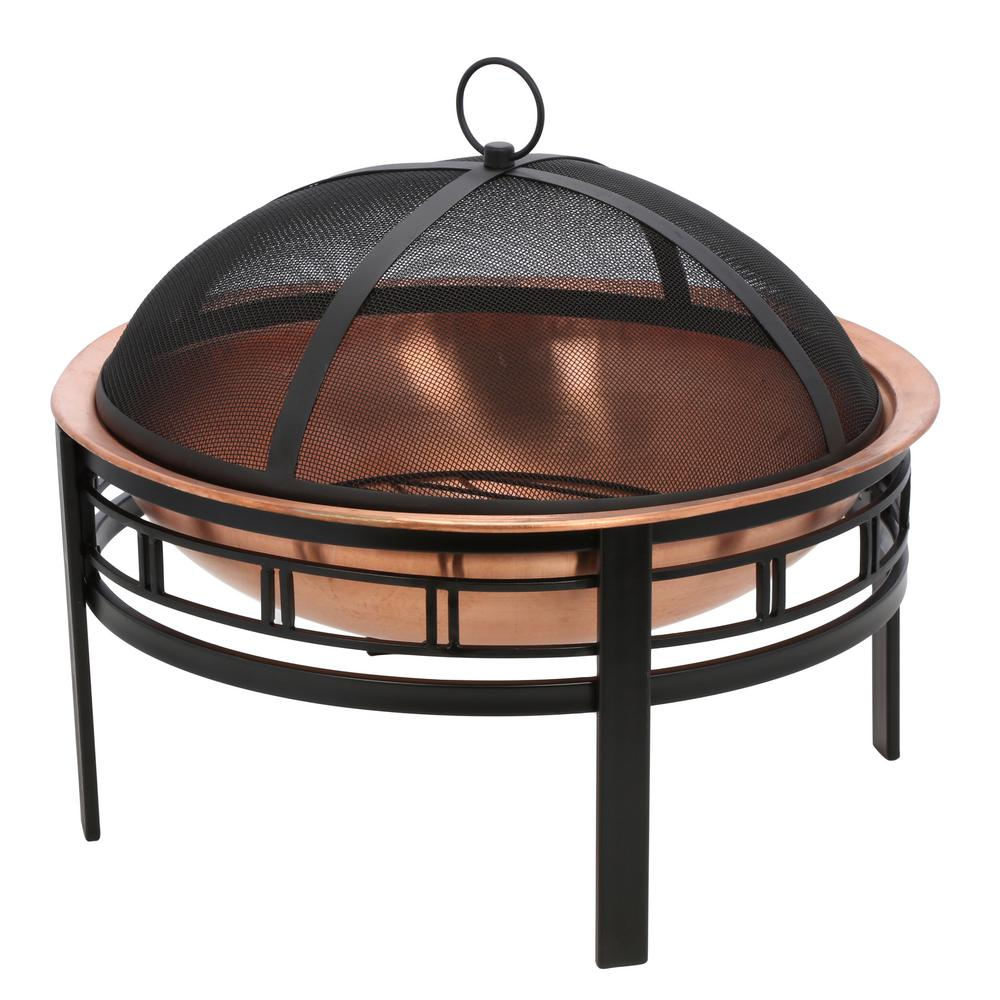Gilbert & Bennett 28 in. Copper Mission Fire Pit