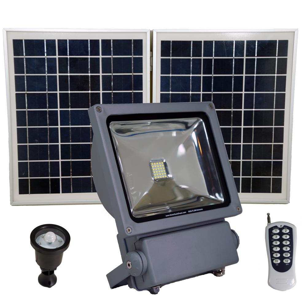 Solar Goes Green 150 Watt Super Bright 30 Motion Activated