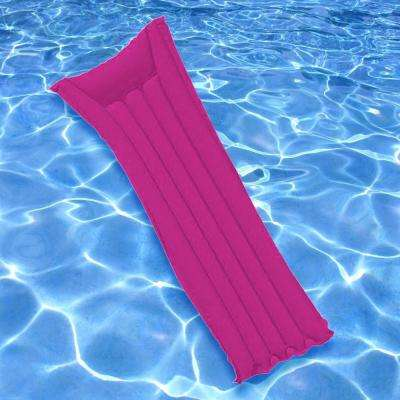 Pink Econo Air Swimming Pool Mattress