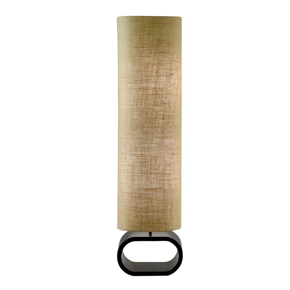 Harmony 47 in. Burlap Floor Lamp