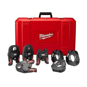 Milwaukee M18 1/2 inch - 2 inch Black Iron Press Tool Jaw Kit by Milwaukee