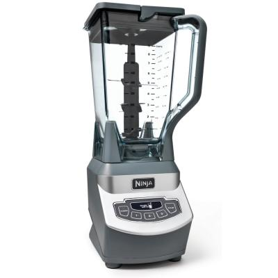 Nutri Ninja 72 oz. 3-Speed Black Professional Blender with 2 Single Serve Cups