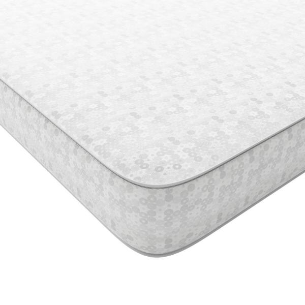 Safety 1st Precious Angel Standard Baby Crib And Toddler Bed Mattress In White 6236069 The Home Depot