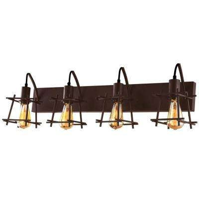 Hashtag 4-Light New Bronze Vanity Light