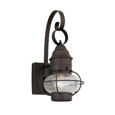 Nantucket Rustique Outdoor Wall-Mount Lantern Sconce