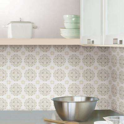 Oasis Neutral Tile Decal Kit