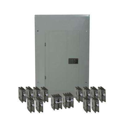 BR 100 Amp 20 Space 20 Circuit Indoor Main Breaker Loadcenter with Cover Value Pack (6-BR120, 6-BR115, 1-BR230, 1-BR250)