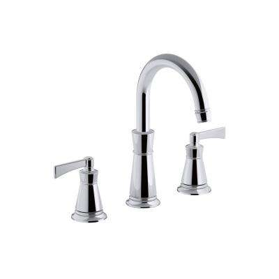 Archer Single Hole 2-Handle High Arc Bathroom Faucet Trim Kit in Polished Chrome (Valve Not Included)