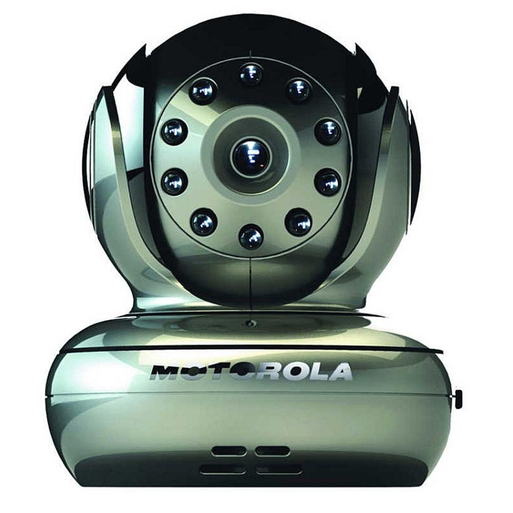 Motorola Blink1 Pan-Tilt-Zoom Wi-Fi Camera in Silver
