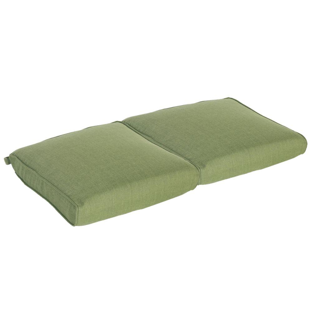 Bloomfield Replacement Outdoor Double Glider Cushion · Hampton Bay  Bloomfield ...