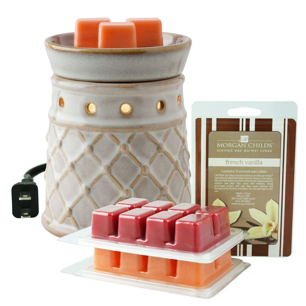 MORGAN CHILDS Electric Scented Wax Warmer Set