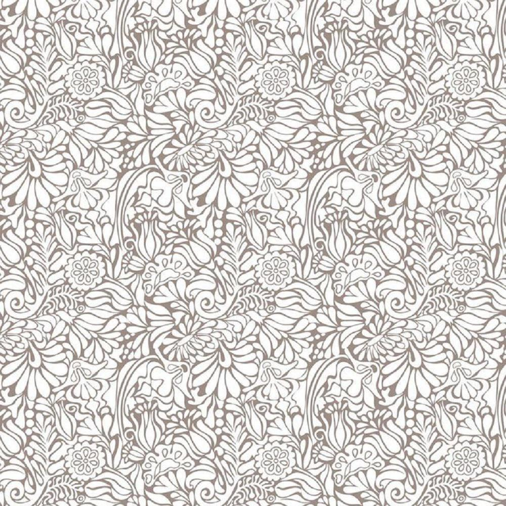 Creative Covering 18 in. x 20 ft. Batik Taupe Self-Adhesive Vinyl