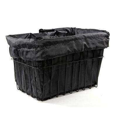 Black Bicycle Basket Liner
