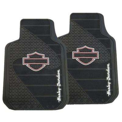 Harley Davidson Heavy Duty Vinyl 31 in. x 18 in. Floor Mat in Pink