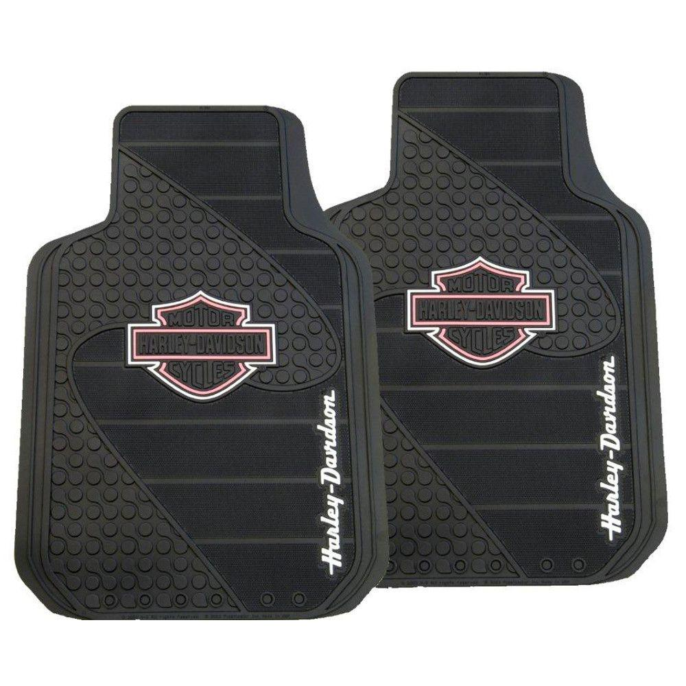 Harley Davidson Floor Mat Pink Car Cargo Front Floorboard
