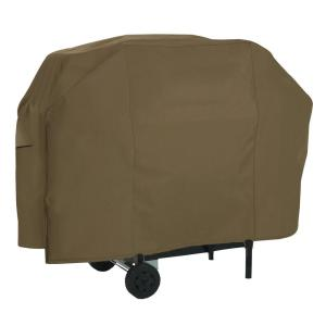 Click here to buy Classic Accessories 65 inch Gas Grill Cover by Classic Accessories.