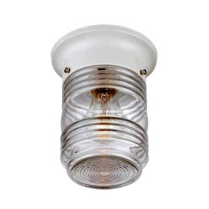 acclaim lighting choice collection 1light white outdoor light the home depot
