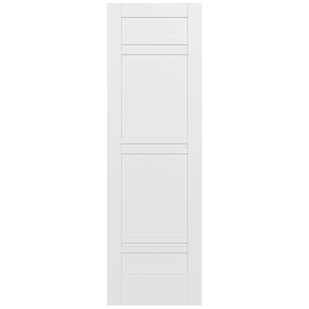 Jeld wen 32 in x 96 in moda primed pmp1071 solid core wood interior door slab thdjw221100026 for Solid core interior doors soundproof