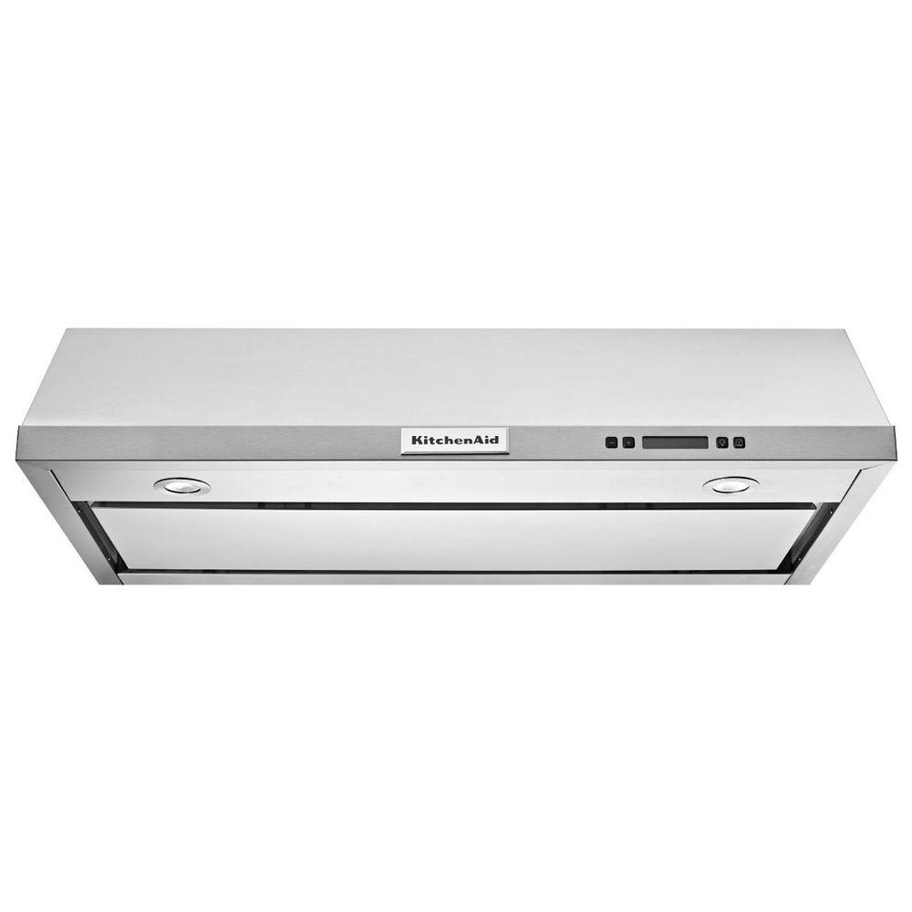 KitchenAid 36 in. Convertible Under Cabinet Range Hood in Stainless Steel