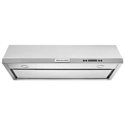 36 in. Convertible Under Cabinet Range Hood in Stainless Steel