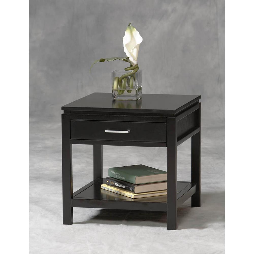 Home Decorators Collection Sutton Black End Table by Home Decorators Collection